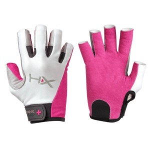 Harbinger HumanX X3 Womens Gym Training 3/4 Finger Gloves