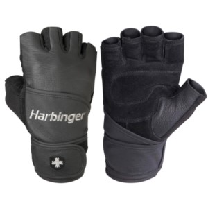 Harbinger Classic Gym Training WristWrap Gloves