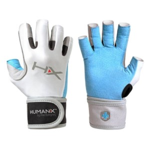 Harbinger HumanX X3 Competition Womens Gym Training 3/4 Finger Gloves With WristWrap