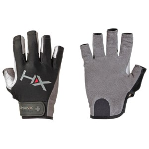 Harbinger HumanX X3 Mens Gym Training 3/4 Finger Gloves