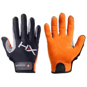Harbinger HumanX X3 Competition Mens Gym Training Full Finger Gloves